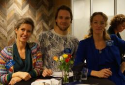 De drie trainers van De Proeverij: Merianka, Floris en Marijke.