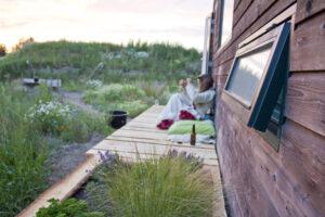 Wonen in een Tiny House - buiten